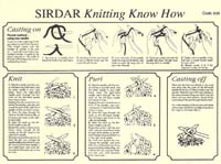 How to Knit - Click to enlarge