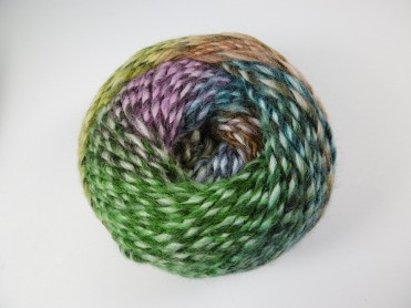 Ball of Adriafil Mistero Knitting Yarn, shade 53 Glade